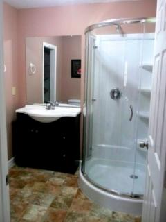 Lovely Master Bathroom with Walk-In Shower