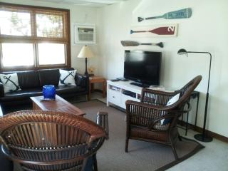 LIVING ROOM WITH FLAT SCREEN TV, CABLE AND DVD PLAYER  -  WI FI