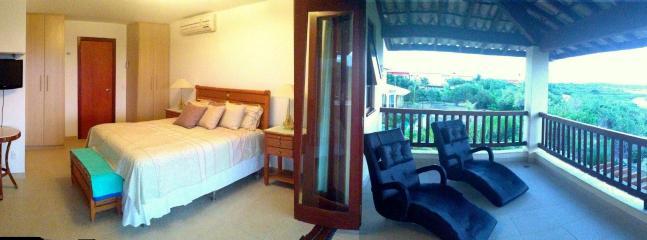 Master bedroom and veranda