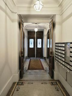 Building entrance hall