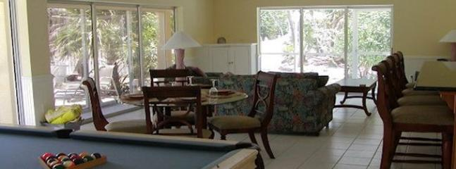 Guest house pool table