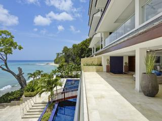 Portico 1 at Prospect Beach, Barbados - Beachfront, Pool, Gym And Sauna