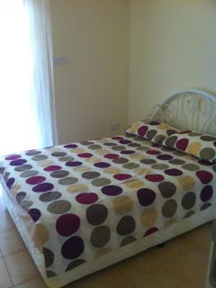 Master Bedroom with double bed and ensuite shower room