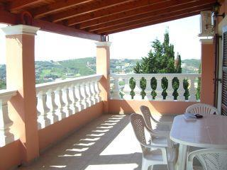 Balcony of 2 bedroom Apartmen at Villa Leo