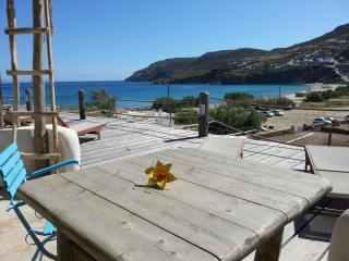 Studio For 4 Guests By The Beach With Sea View, Mykonos
