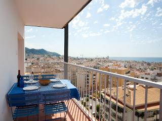 The Blue, apartment with panoramic views, Sitges