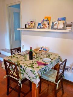 dining room apt Villa Verità