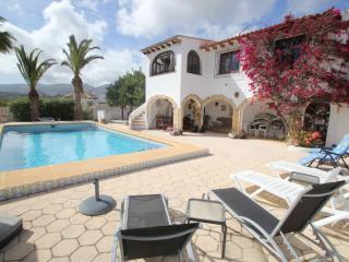 Private Villa with Mountain & Sea Views in Calpe