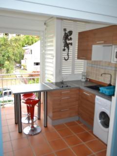 cuisine équipée appartement Corail