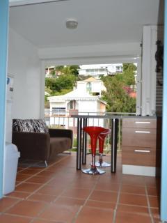 vue d'ensemble cuisine appartement Corail