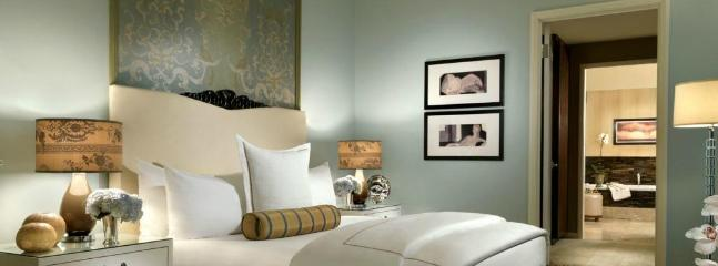 Lose yourself in the plush comfort of the king size bed