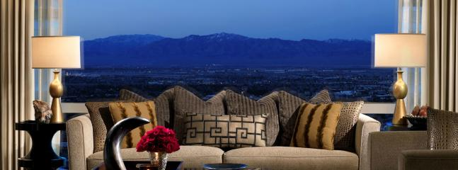 Marvel at the floor-to-ceiling views of the City and the mountains