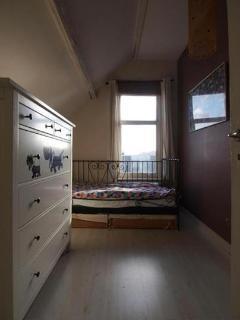 Single bedroom in the back