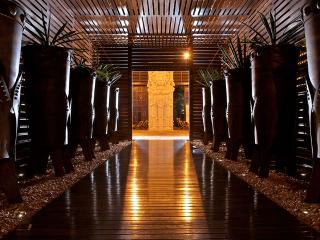 Entry to the Grand Mayan Reception Area