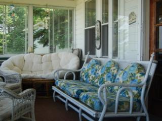 Lakefront porch