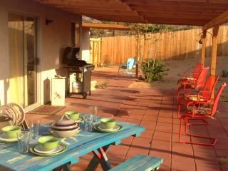 Outdoor dining with BBQ