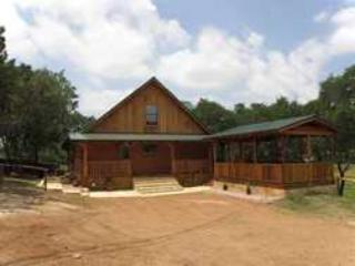 The Thunderbird Texan Log Cabin on Lake Buchanan