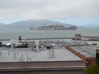 View from patio showing Alcatraz