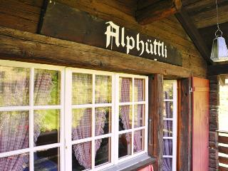 Chalet Alphüttli in peaceful countryside, Visperterminen