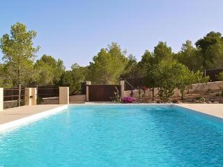 4 bedroom Villa in Cala Tarida, Balearic Islands, Spain : ref 5388254