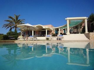 6 bedroom Villa in Cala Tarida, Balearic Islands, Spain : ref 5047451