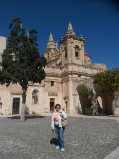 THE FAMOUS SANCTUARY IN  MELLIEHA