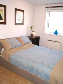 The Bedroom and double bed