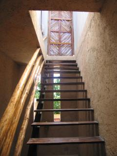 Main House Stair to Roof Deck