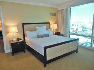 Sleep soundly in somptuous bed sheets, plush down comforters and pillows