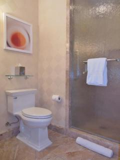 Full second bathroom with shower