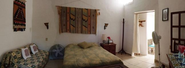 Room #5 at Casitas Kinsol - A room fully walled on the second floor of the building - Comes with A/C