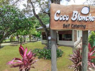 Coco Blanche Self-Catering - Ocean View Villa front facing