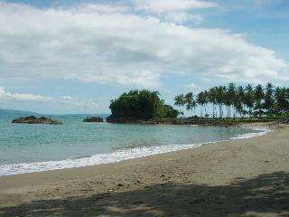 the beach front only 100 meter from the villa