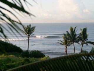 Bali surf beach bungalow on relaxing Balian beach