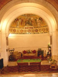 Mosaic Apse in St Curig's Church