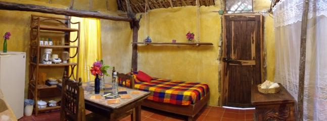 Casitas Kinsol Room #8 - An authentic Mayan hut with a thatched roof and hard wood beams