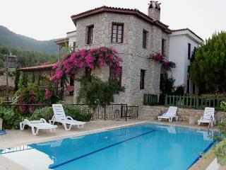 Stone villa with breath taking views, pool, wi-fi, Datca