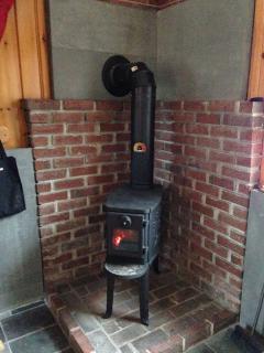 New wood burning stove