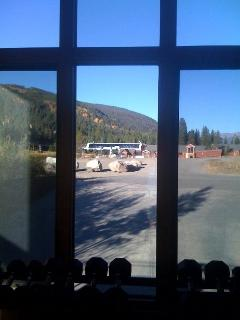 View of gondola from weight room