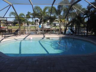 Summer weeks available! Ask about our special! SE Cape Coral Gulf Access Pool Home/ FREE WIFI
