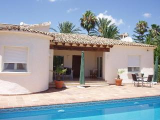 Villa 6 pers. Moraira, luxury on his, private pool, La Llobella