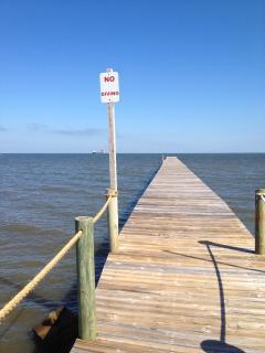 Fishing Pier on Bay