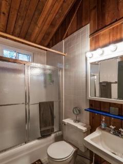 Full Master bathroom upstairs