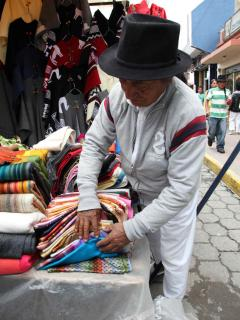 Otavalo market... get ready to discover wonderful souvenirs