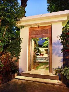 Villa Heliconia Entrance