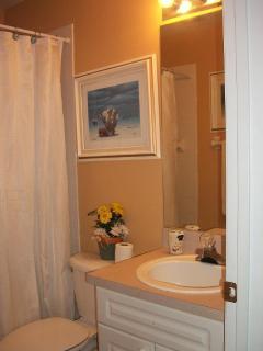 2nd full bath with tub n shower