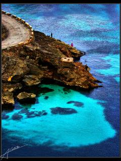 Amazing beach called Cala san vicente