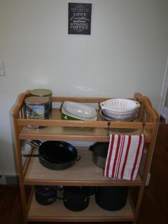 Pots, Pans, Pyrex Ware