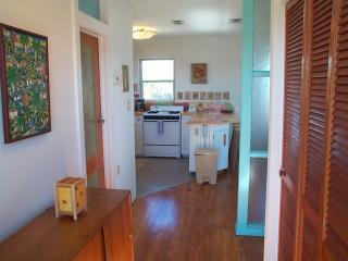View of hallway and kitchen upstairs