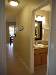 Hallway to Bedrooms and Bathrooms